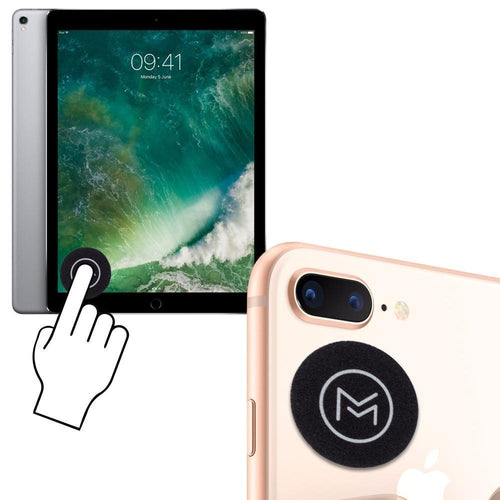 Apple Iphone 8 Plus - Mobovida Re-usable Stick-on Screen Cleaner