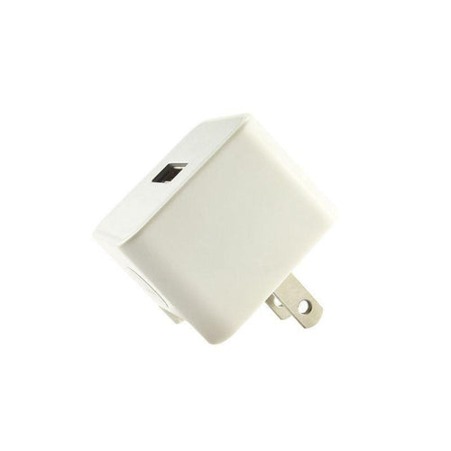 Pantech Breeze C520 - USB Home/Travel Power Adapter (, 1000 mAh), White