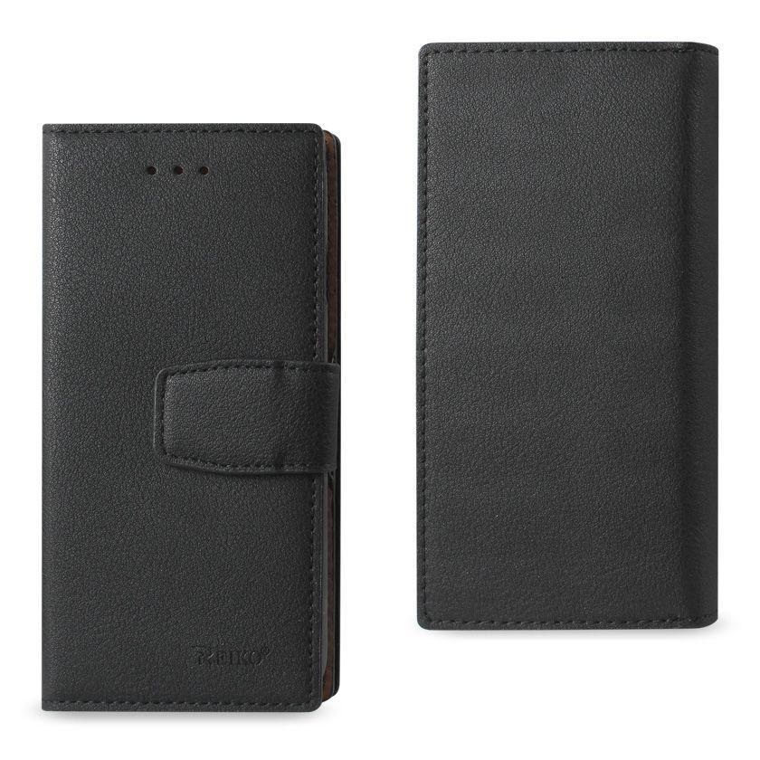 - Premium Genuine Leather Wallet Case with RFID, Black for Apple iPhone 6/iPhone 6s