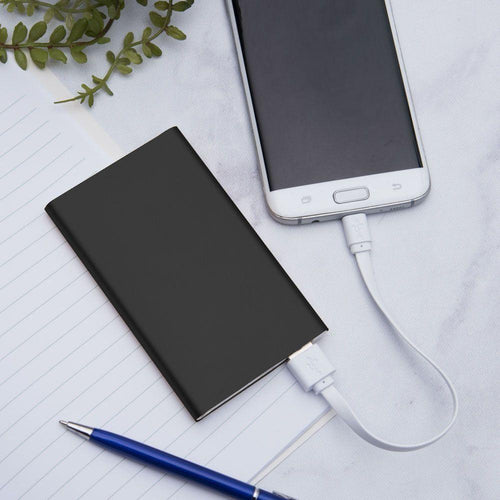 Other Brands Oppo Mirror 3 - 4000mAh Slim Portable Battery Charger/Power Bank, Black