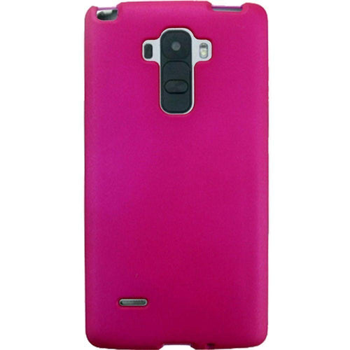 Lg G4 Stylus - Slim Fit Hard Plastic Case, Hot Pink