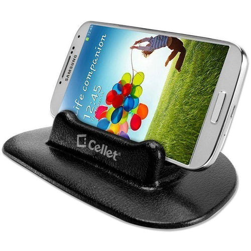 Motorola Moto E - Cellet Anti-Slip Car Holder, Black