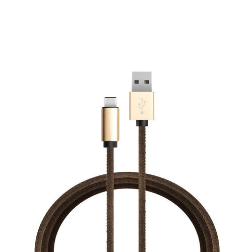 Samsung Fascinate I500 - Denim Micro USB Charge and Sync Cable, Brown