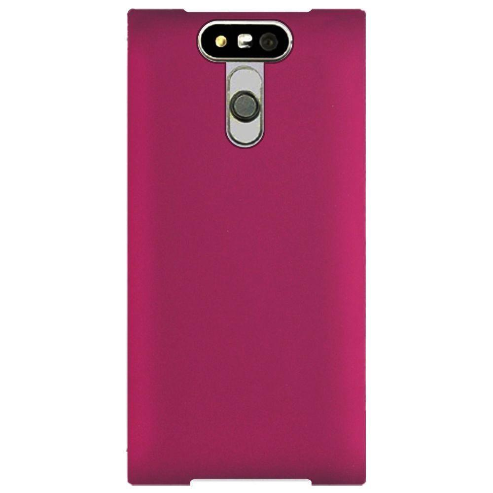 - Slim Fit Hard Plastic Case, Hot Pink
