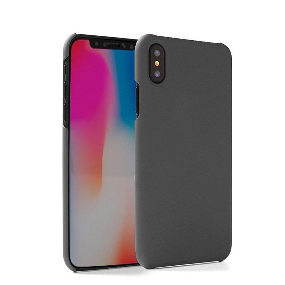 - Ultra Slim Fit Hard Plastic Case, Smoke for Apple iPhone X