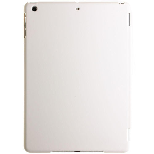 Apple Ipad Air - 2-in-1 Full Body Ultra Slim Fit Hard Plastic Tablet Case, White for Apple iPad Air