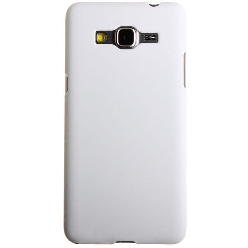 Samsung Go Prime - Ultra Slim Fit Hard Plastic Case, White