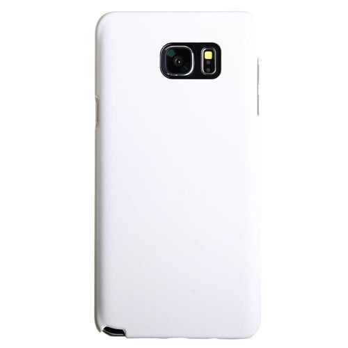 Samsung Galaxy Note 5 - Ultra Slim Fit Hard Plastic Case, White for Samsung Galaxy Note 5