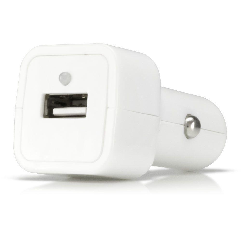 - Value Series USB Vehicle Power Adapter (500 mAh), White