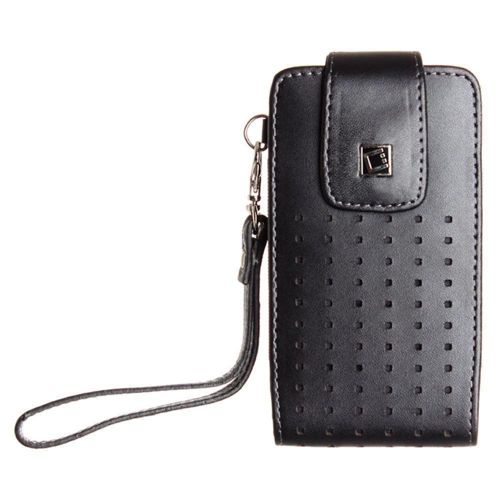 - Cellet Teramo Leather Case, Black