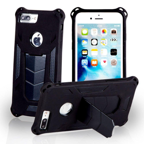 Apple Iphone 6 - MAXX Shield Rugged Case with Stand, Black for Apple iPhone 6/iPhone 6s