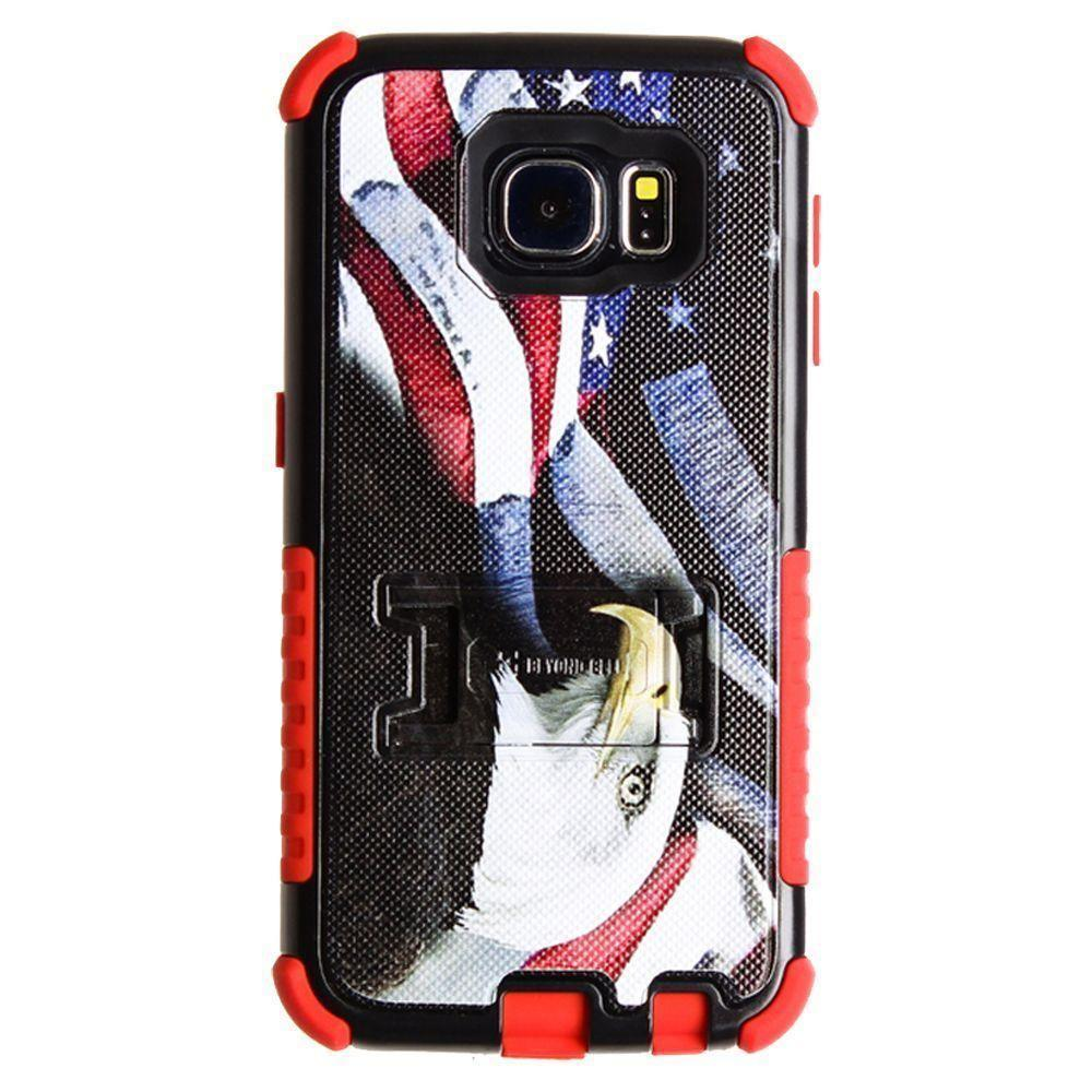 - Tri Shield American Eagle and Flag Rugged Case for Galaxy S6