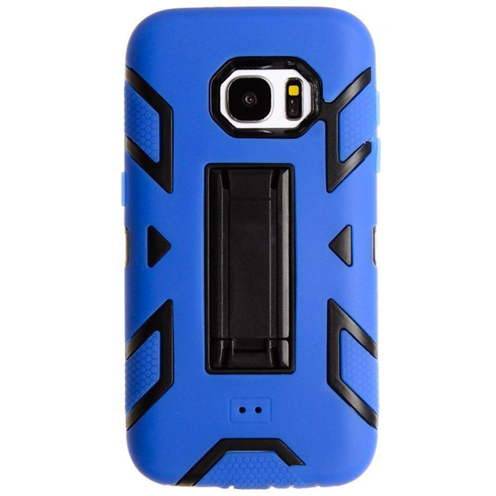 - Vortex Style Rugged Case, Blue/Black for Samsung Galaxy S7