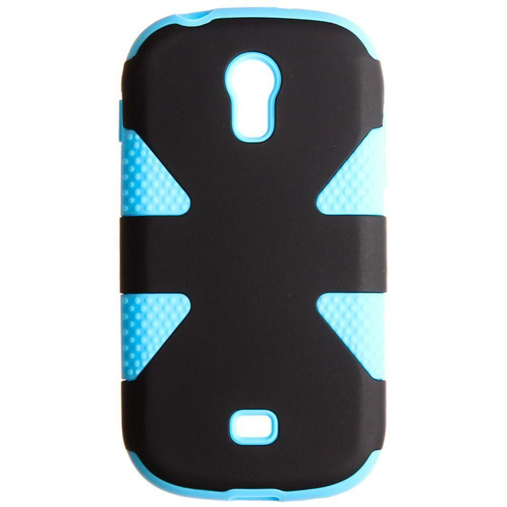 - Dynamic Rugged Case, Black/Sky Blue