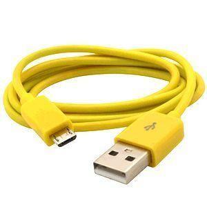Lumia 620 - Micro 3ft USB Charge & Sync Cable, Yellow