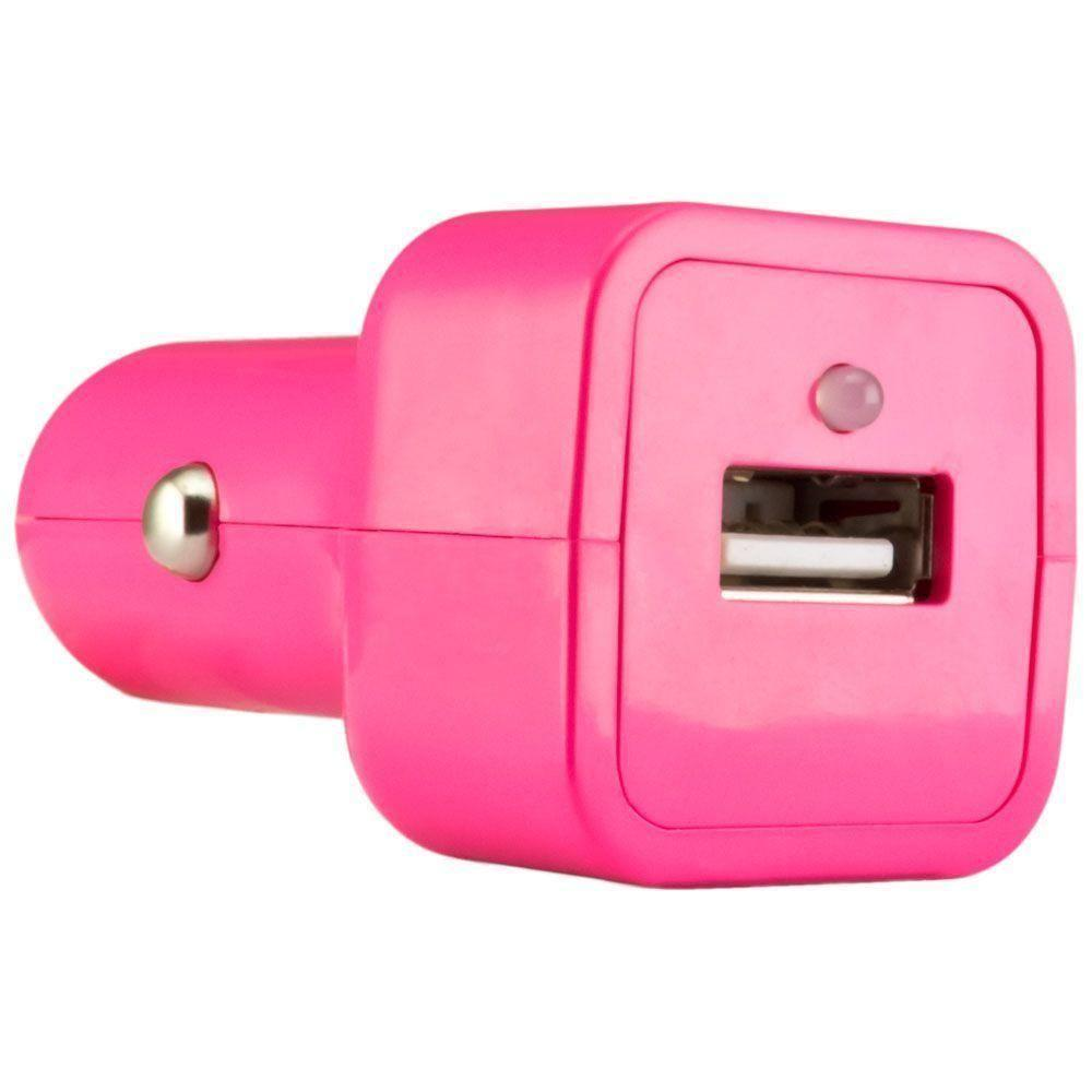 - Value Series USB Vehicle Power Adapter (500 mAh), Pink
