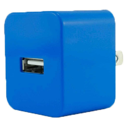 Zte Avid 4g - Value Series .5 amp 500 mAh USB Travel Charger Adapter, Dark Blue