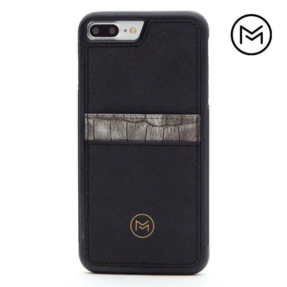 - Limited Edition Mobovida Acacia Card Case, Slate/Black for Apple iPhone 7 Plus/iPhone 8 Plus