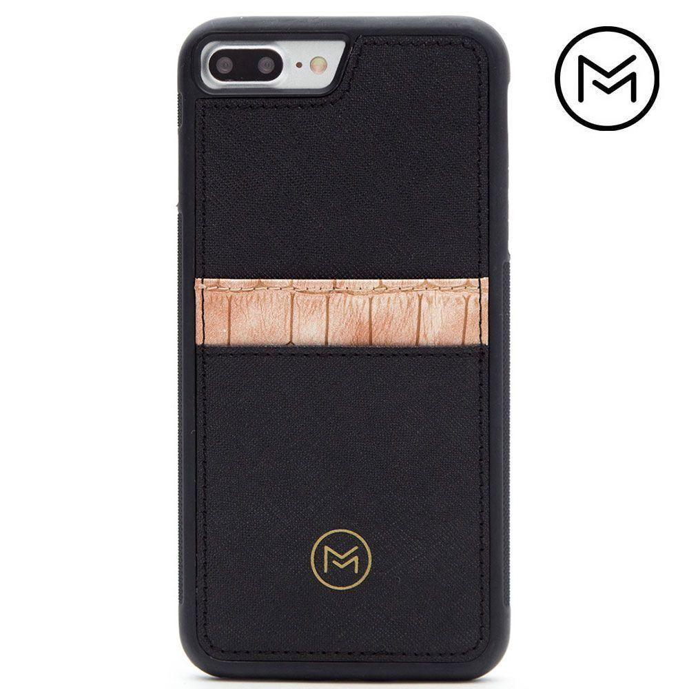 - Limited Edition Mobovida Acacia Card Case, Rose/Black for Apple iPhone 7 Plus/iPhone 8 Plus
