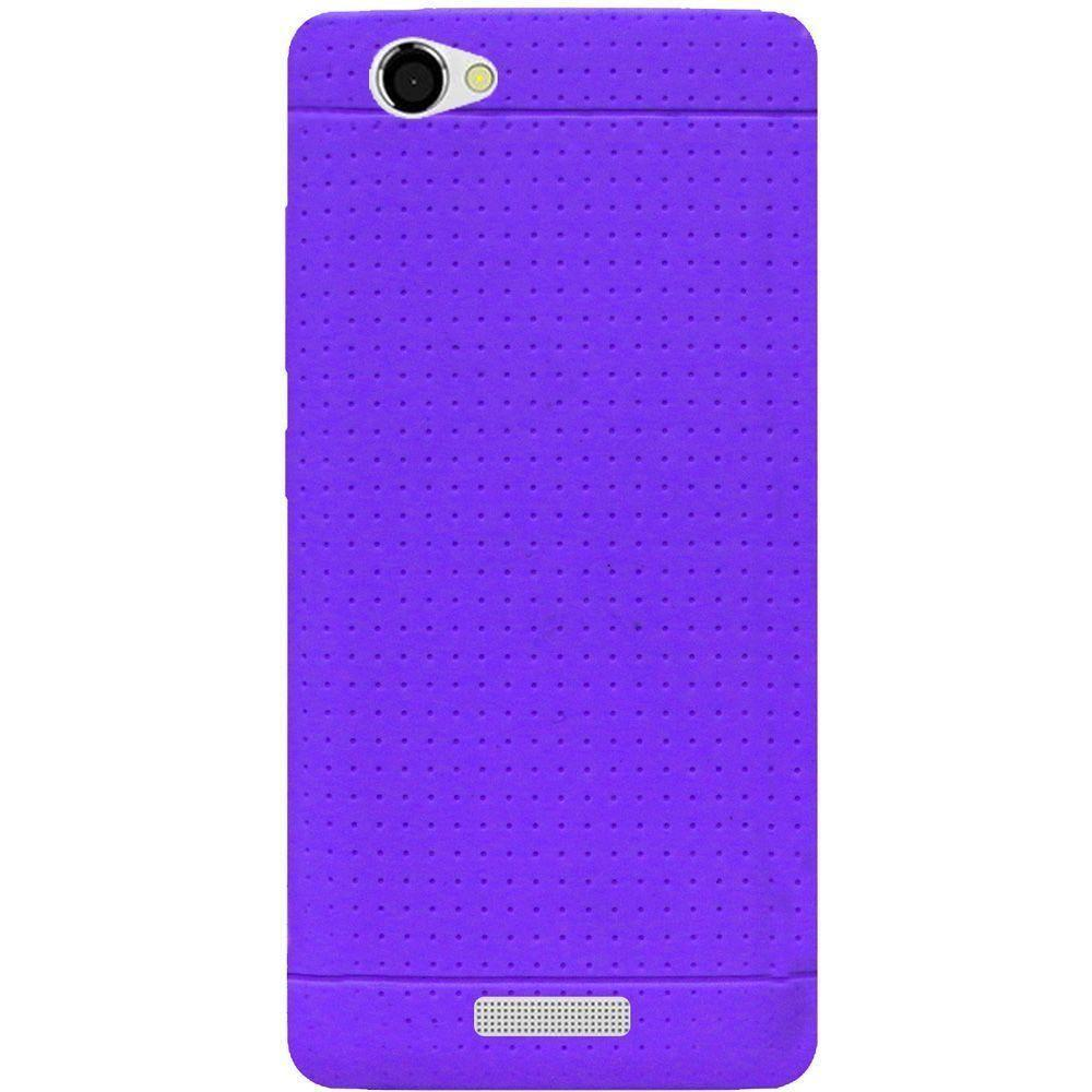 - Silicone Case, Purple