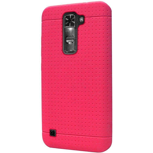 Lg K7 - Silicone Case, Hot Pink