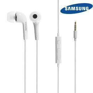 Apple Ipod Touch 5th Generation - Original Samsung 3.5mm Premium Stereo Headset w/In-Line Mic, White (EHS64AVFWE)