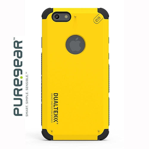 Apple Iphone 6 - Original PureGear DualTek Extreme Shock Hybrid Phone Case, Yellow for Apple iPhone 6/iPhone 6s