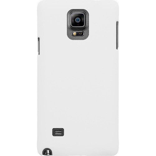 Samsung Galaxy Note 4 - Ultra Slim Fit Hard Plastic Case, White for Samsung Galaxy Note 4