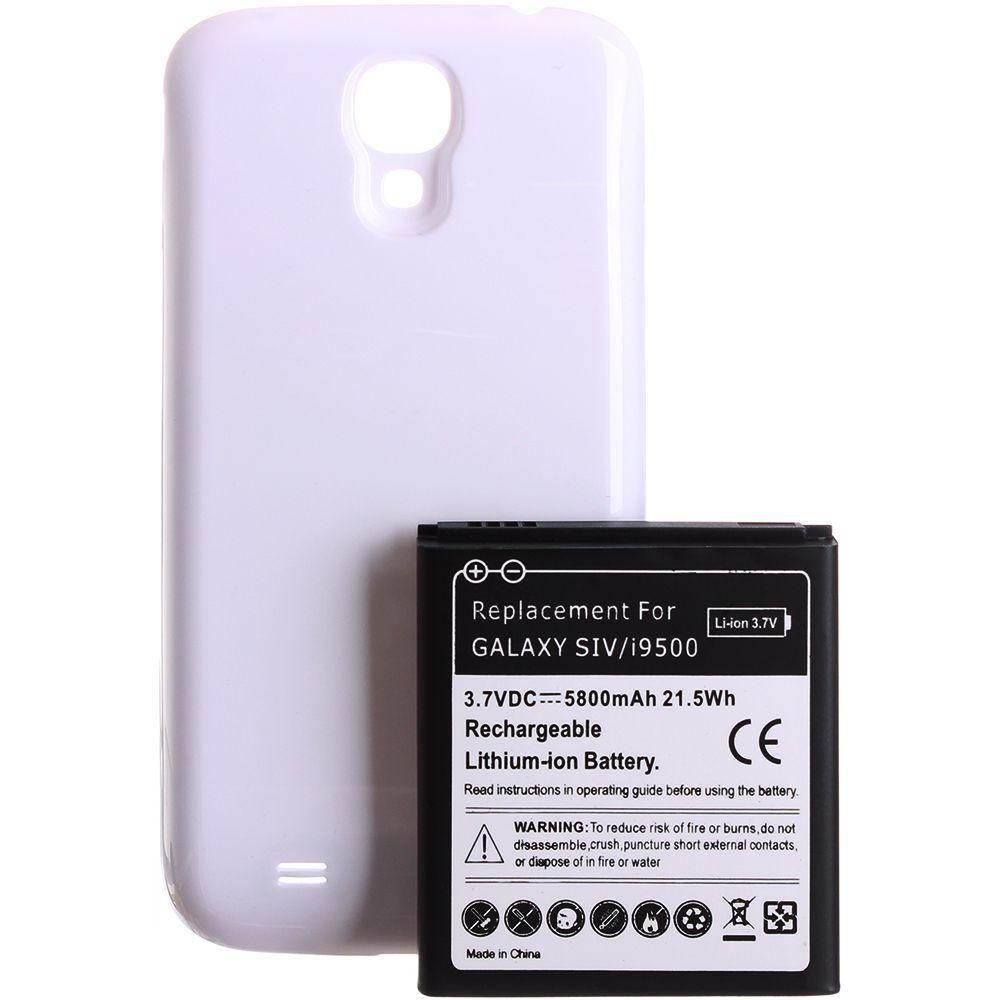- Extended Battery(5800 mAh), White