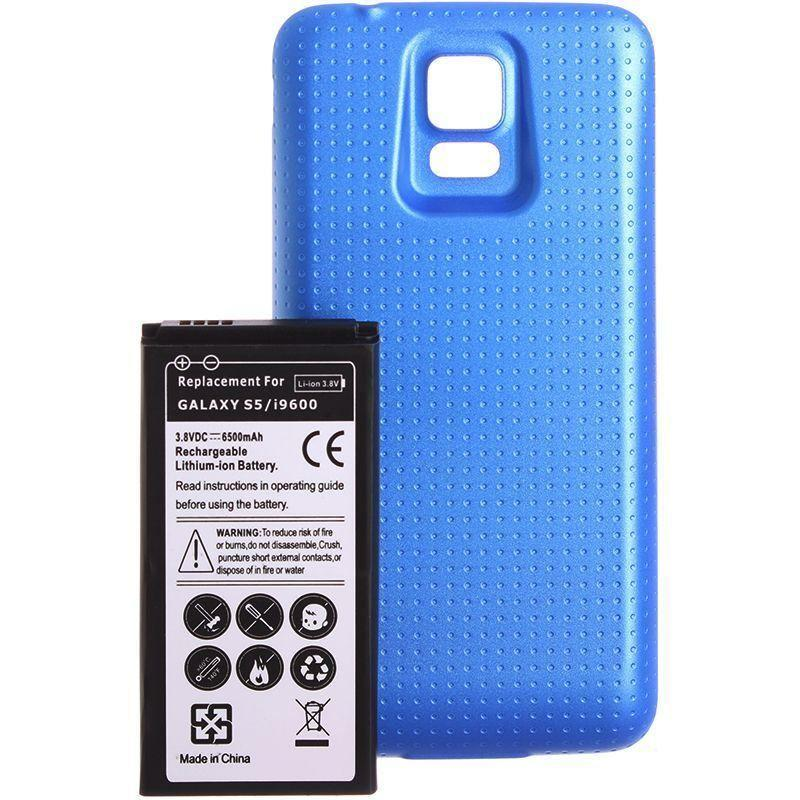 - Extended Battery (6500mAh), Blue