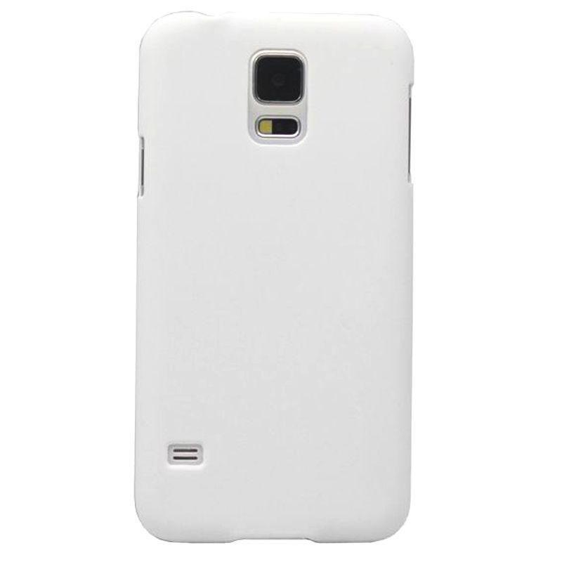 - Ultra Slim Fit Hard Plastic Case, White for Samsung Galaxy S5
