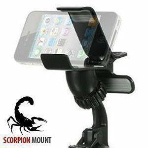 Motorola Droid 3 - Scorpion Holder, Black