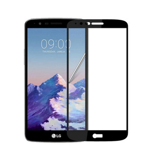 Clearance Accessories - Full Edge Colored Tempered Glass Screen Protector, Black