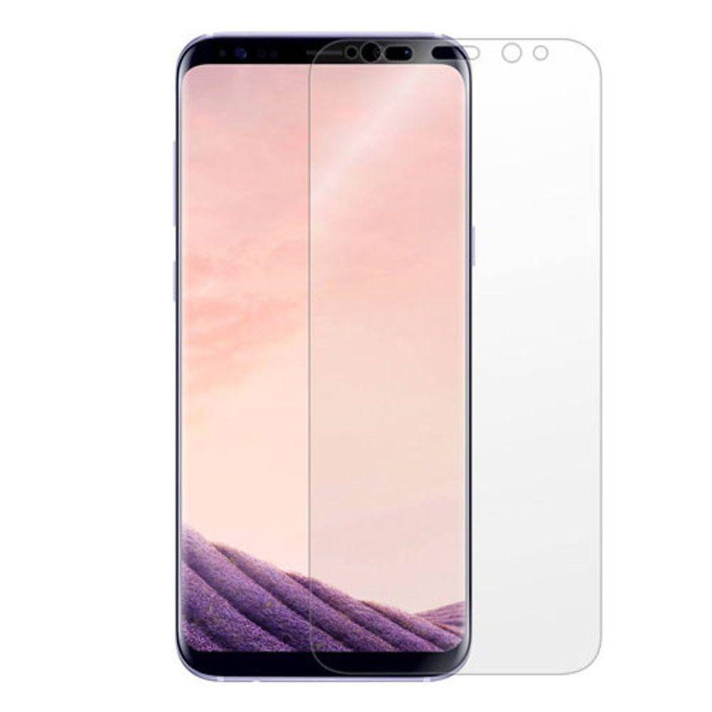 - Full Screen Protector, Clear for Galaxy S8 Plus