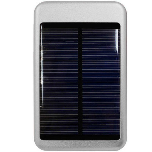 Zte Source - Solar Powered 6000 T-Pocket Portable Phone Battery (5000 mAh), Silver