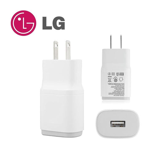 Lg Ax5000 - OEM 1.8 Amp Charging Adapter, White (MCS-04WD2)