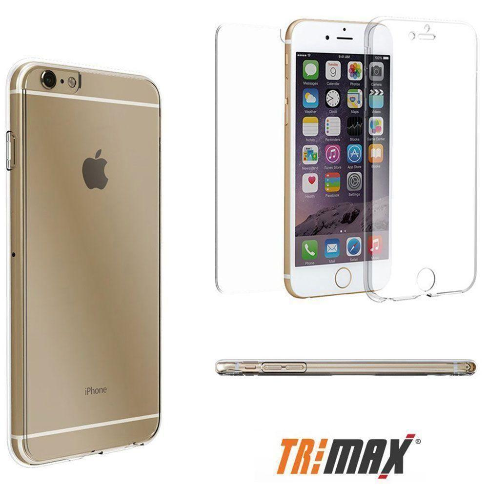 - Tri Max Rugged Case, Clear for Apple iPhone 6 Plus/iPhone 6s Plus