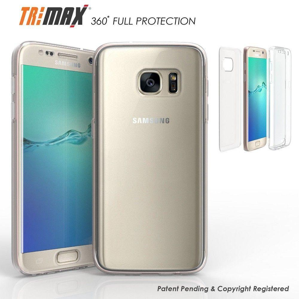 - Tri Max Rugged Case, Clear for Samsung Galaxy S7