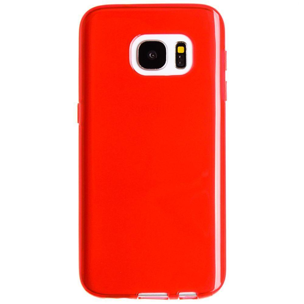 - TPU Case, Red for Samsung Galaxy S7