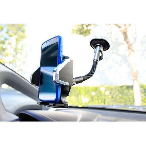 Motorola Moto Z Play Droid - Window Mount Phone Holder, Black