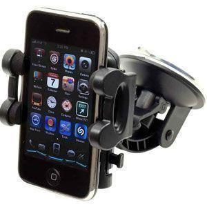Motorola Droid 3 - Windshield Car Holder, Black