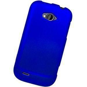 Zte Savvy Z750c - Slim Fit Hard Plastic Case, Blue