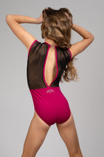 Royalty Leotard - Sangria