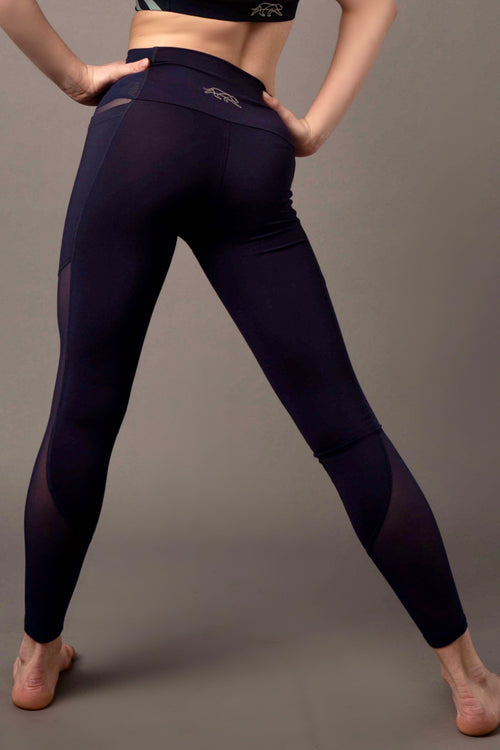 Matrix Pocket Legging - Navy