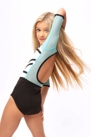 Cathedral Leotard 2.0 - Aqua