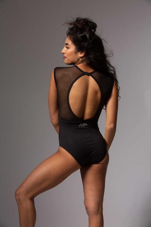 Royalty Leotard - Black