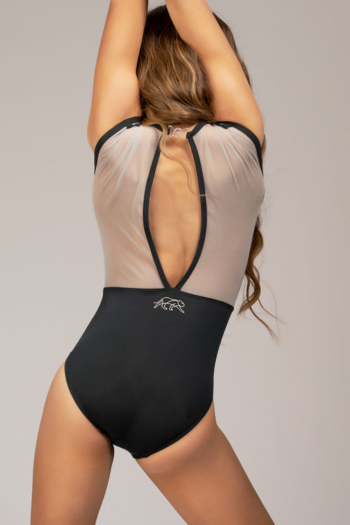 Royalty Leotard - Graphite