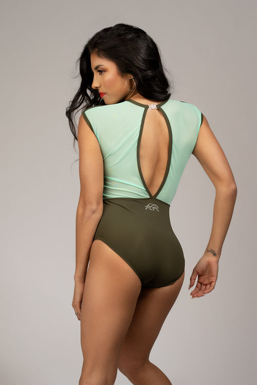 Royalty Leotard - Pine