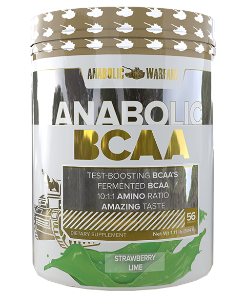 Anabolic Warfare Anabolic BCAA Strawberry Lime Flavor