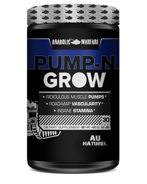 Anabolic Warfare Pump-N Grow Natural Flavor